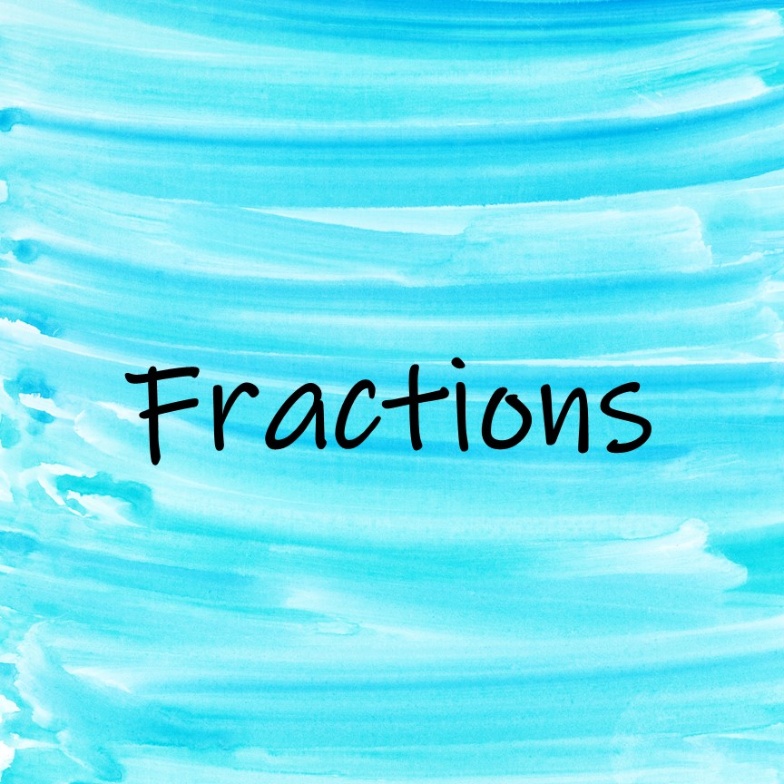 Fractions Math Read Alouds to introduce or review math content in meaningful contexts