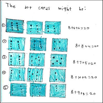 1st Grade Math Journal Task 14