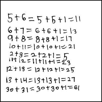 1st Grade Math Journal Task 28