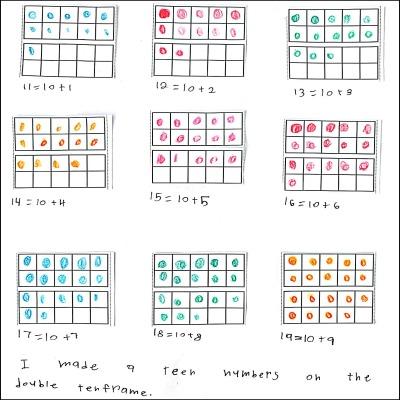 1st Grade Math Journal Task 40
