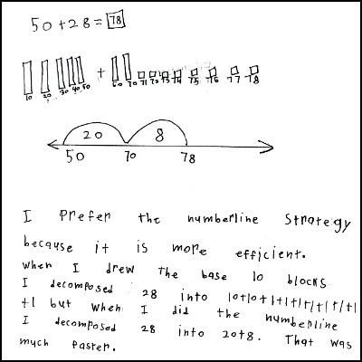 1st Grade Math Journal Task 51