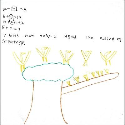 1st Grade Math Journal Task 6