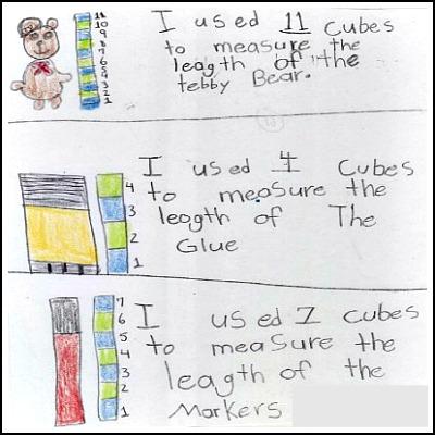 1st Grade Math Journal Task 61