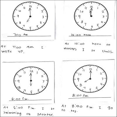 1st Grade Math Journal Task 67
