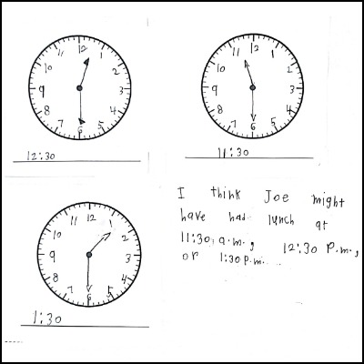 1st Grade Math Journal Task 68