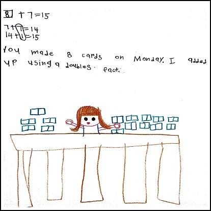 1st Grade Math Journal Task 7