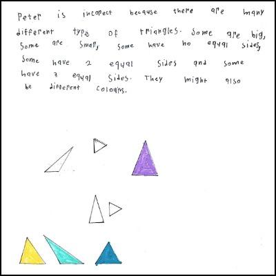 1st Grade Math Journal Task 74