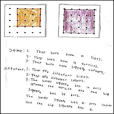 1st Grade Math Journal Task 75