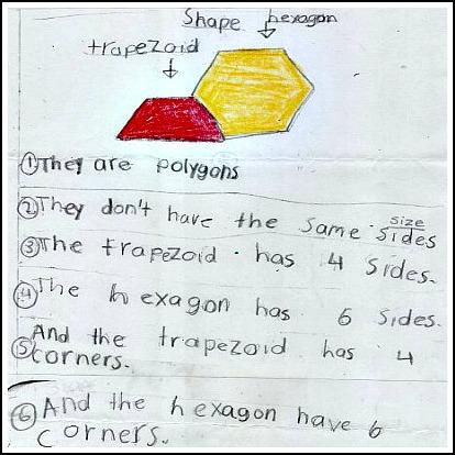 1st Grade Math Journal Task 78