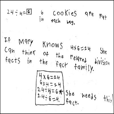 3rd Grade Math Journal Task 15