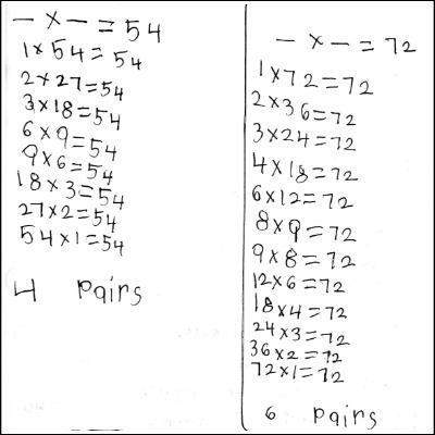 3rd Grade Math Journal Task 17