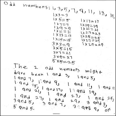3rd Grade Math Journal Task 19