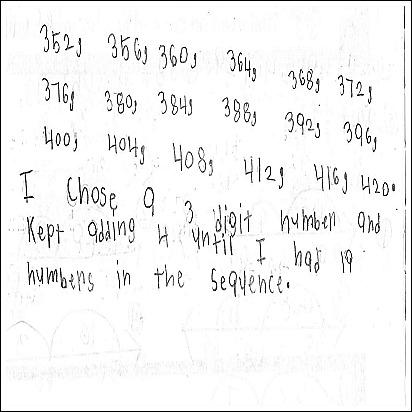 3rd Grade Math Journal Task 26