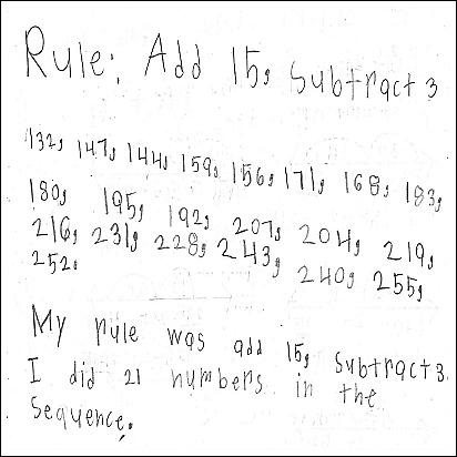 3rd Grade Math Journal Task 28