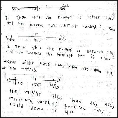 3rd Grade Math Journal Task 29