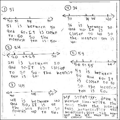 3rd Grade Math Journal Task 30