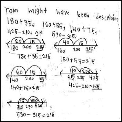 3rd Grade Math Journal Task 33