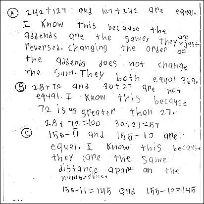 3rd Grade Math Journal Task 34