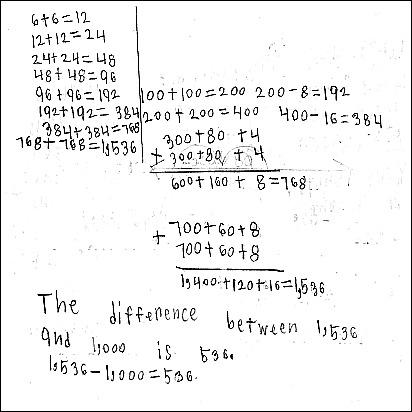 3rd Grade Math Journal Task 35