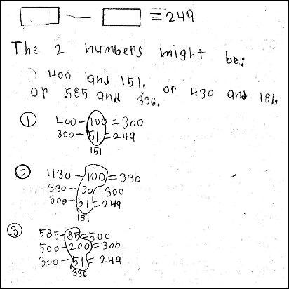 3rd Grade Math Journal Task 38