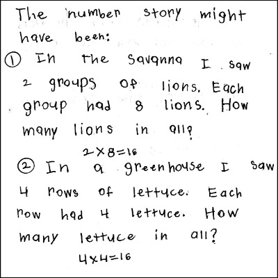 3rd Grade Math Journal Task 7