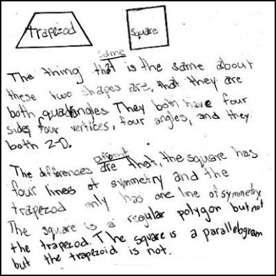 3rd Grade Math Journal Task 85