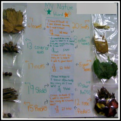 Math Project: Going on a Nature Hunt