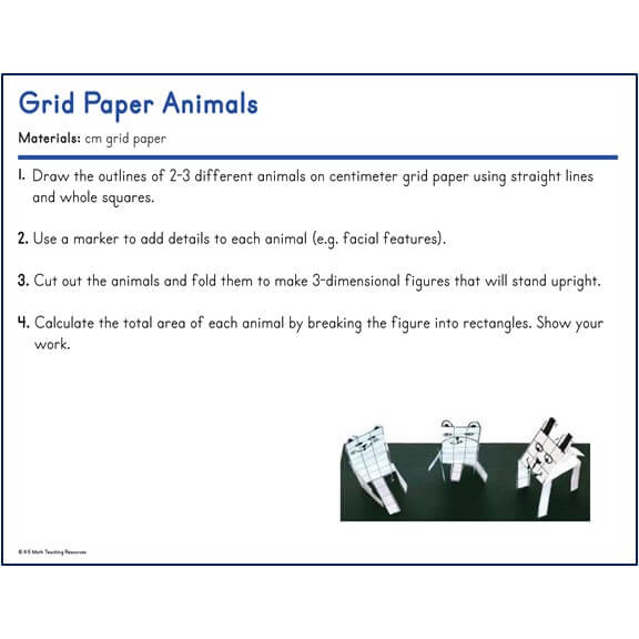 Grid Paper Animals