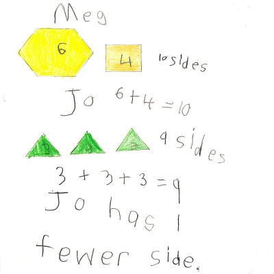 Kindergarten Math Journal Task 140