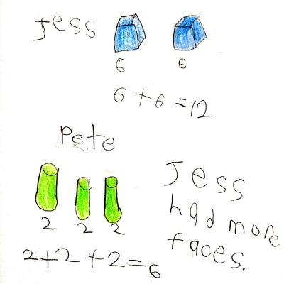 Kindergarten Math Journal Task 141