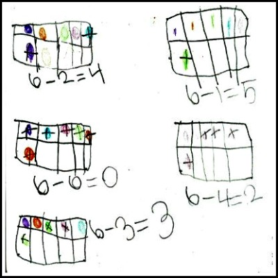 Kindergarten Math Journal Task