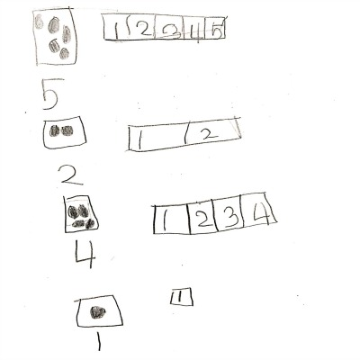 Kindergarten Math Journal Task 12