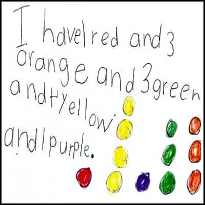 Kindergarten Math Journal Task 128
