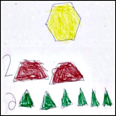 Kindergarten Math Journal Task 148