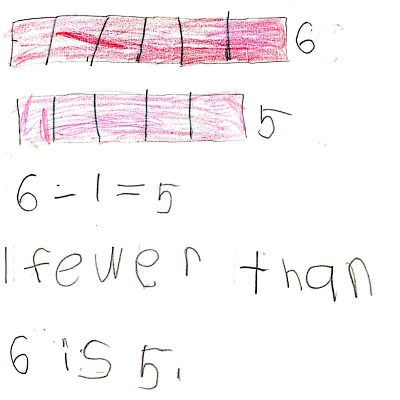 Kindergarten Math Journal Task 29
