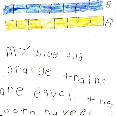 Kindergarten Math Journal Task 30