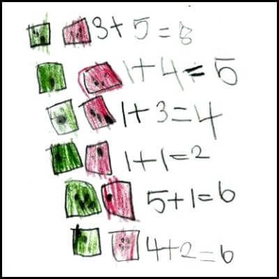 Kindergarten Math Journal Task 54