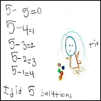 Kindergarten Math Journal Task 72