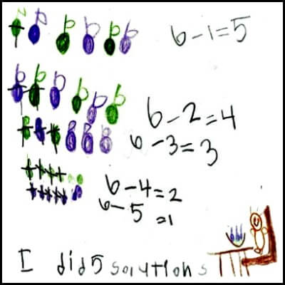 Kindergarten Math Journal Task 73