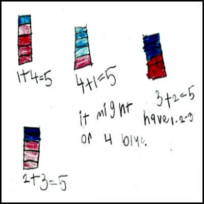Kindergarten Math Journal Task 74
