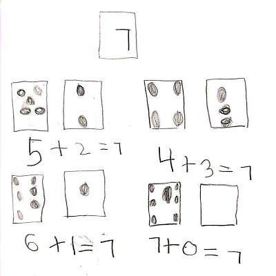 Kindergarten Math Journal Task 77