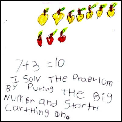 Kindergarten Math Journal Task 85