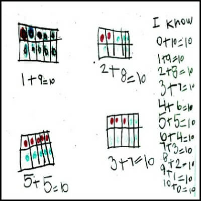 Kindergarten Math Journal Task 87
