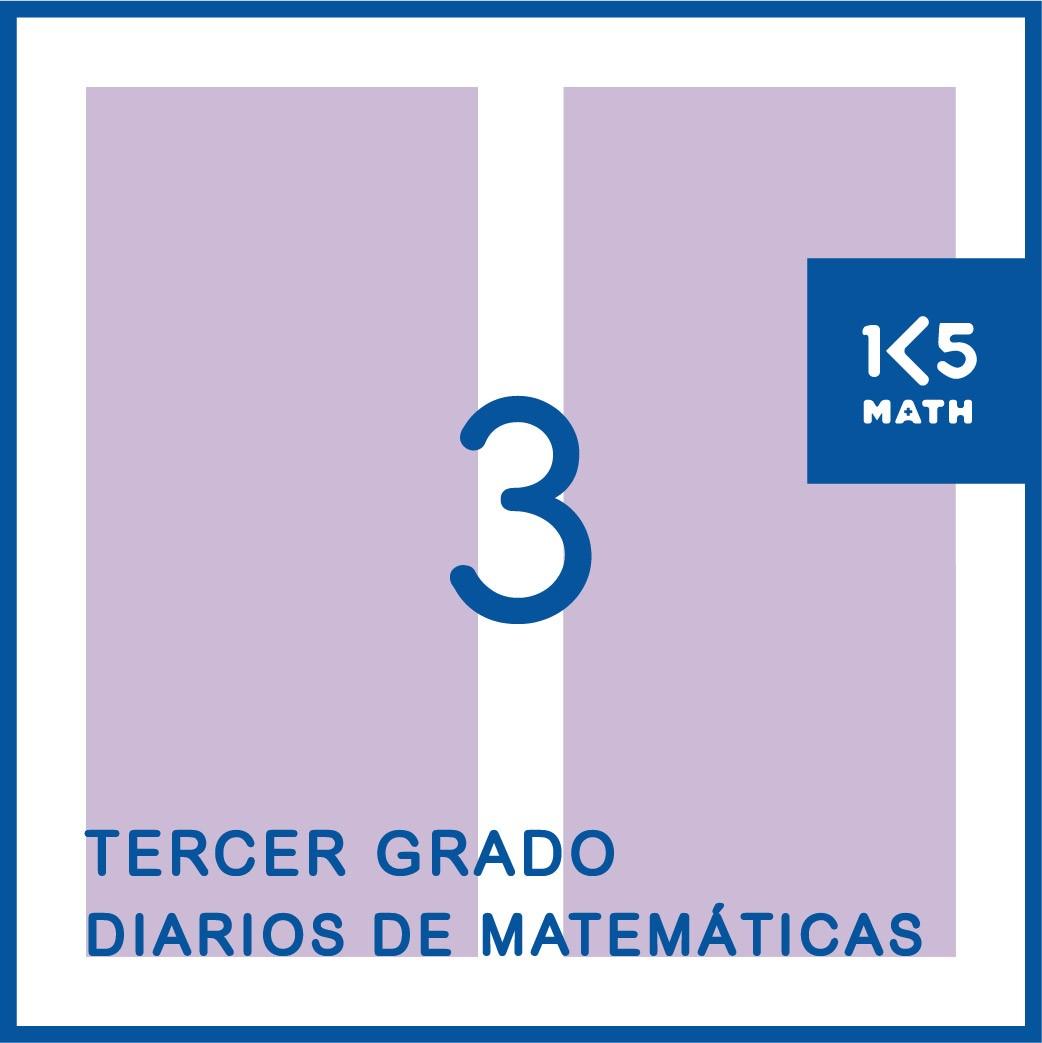 3rd Grade Math Journals: Spanish