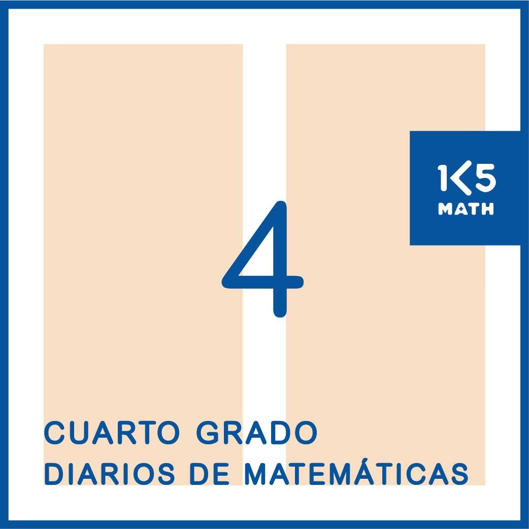 4th Grade Math Journals: Spanish