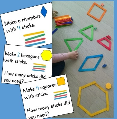 Making Shapes from Sticks