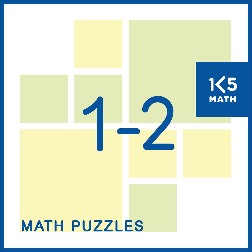 Math Puzzles Grades 1-2
