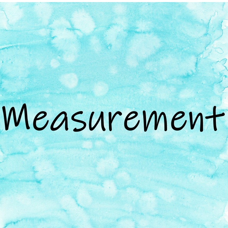 Measurement Math Read Alouds to introduce or review math content in meaningful contexts