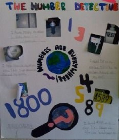Be a Number Detective Math Project