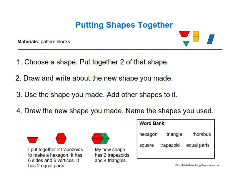 1.G.2 Putting Shapes Together